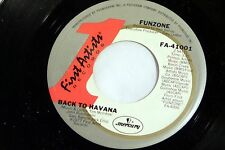 Funzone: Back to Havana / Long Way  [NEW & Unplayed]