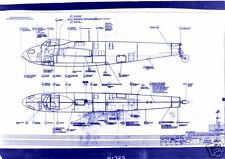 De HAVILLAND MOSQUITO DH98 BLUEPRINT PLANS WW2 PERIOD DRAWINGS VERY RARE ARCHIVE