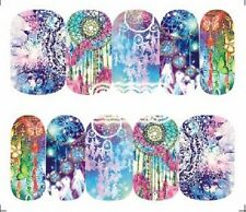 Nail Art Decals Transfers Stickers Psychedelic Dreamcatchers (A-1310)