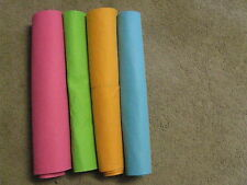 4 20 x 27 Jumbo colors wow water absorb cloth shammies sham shammy kitchen towel