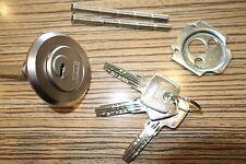 Abus Kastenschloss Rundzylinder   + 3 x EC550 Wende Schlüssel . ungebraucht