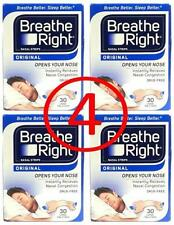 120 BREATHE RIGHT NASAL STRIPS ORIGINAL LARGE TAN (4 box of 30 Ct/each)