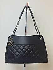 CHANEL Black Quilted Large Shopper Tote Cruise 2015 Handbag $4500