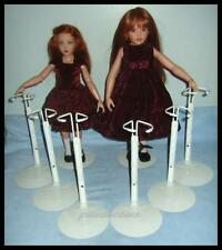 "6 KAISER Doll Stands for Kish 14"" Lark Chrysalis 16"" Seasons"