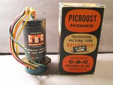 CBC Electronics PICBOOST TELEVISION TV PICTURE TUBE BRIGHTENER NIB Permonite MFG