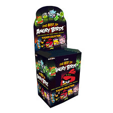 Angry Birds Sticker Album Collection - 50 Packs: The Best Of Angry Bird Stickers