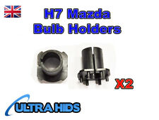 Mazda 3 5 6 MX-5 CX-7 H7 Xenon HID Conversion Bulb Holder Headlight Base Adaptor