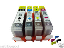 4 Refillable ink cartridge with chip for HP 920 XL OfficeJet 6000 6500 6500a 1P