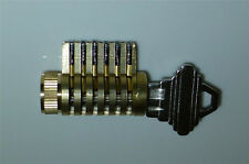 Cutaway Lock, Locksmith Practice and Training. 6 Pin Schlage Brass Cylinder
