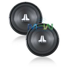 "(2) JL AUDIO® 15W0v3-4 15"" W0v3 4-OHM SUBS SUBWOOFERS SUB WOOFER *PAIR* 15W0 v3"