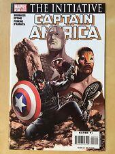 MARVEL Civil War CAPTAIN AMERICA #27 Comic Book THE INITIATIVE 2007 Avengers