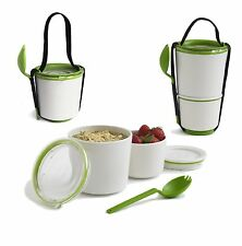 Black + Blum Box Appetit Lunch Pot Food Container Travel Bento Lime Green Handy