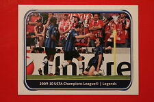 PANINI CHAMPIONS LEAGUE 2010/11 # 551 INTER BLACK BACK MINT!
