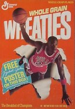 MICHAEL JORDAN WHEATIES POSTER, 1989 (CHICAGO BULLS