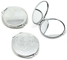 2016 Fashion Portable Pocket Mirror Compact Double Side Makeup Cosmetic Round