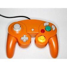 Nintendo GameCube Replacement Controller Orange Gamepad Wii Gamecube Gamecube