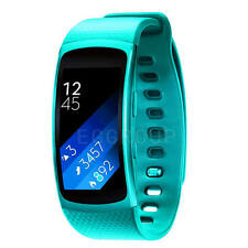 New For Samsung Gear Fit 2 SM-R360 Silicone Strap Watch Band Fitness Replacement
