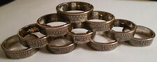 Handmade Custom Coin Rings from State quarters Sizes 5-14 Double Sided Rings