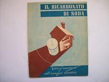 IL BICARBONATO DI SODA SOLVEY   ( m14-1)
