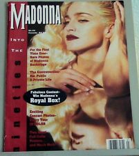 MADONNA Into the Nineties magazine 1991 color photos pop star posters