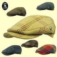 Harris Tweed Donegal Tweed CITY SPORT cap 1920's Peaky Blinders Cap Top Quality