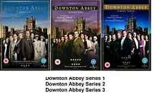 Downton Abbey Complete Series 1 2 3 DVD Set All Episodes New Downtown Donton UK