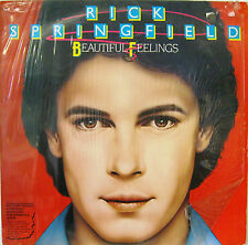 "RICK SPRINGFIELD ""BEAUTIFUL FEELINGS""  lp Italy mint"