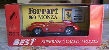 Model Best 1:43 9051 Ferrari 860 Monza red 1956