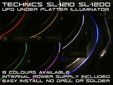 UFO Bajo Plato Halo LED Sistema Para Technics SL-1200/1210. 8 Colores Disponible