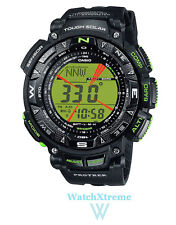 CASIO Pro Trek PRG-240-1B PRG240 Men's Triple Sensor Tough Solar Sports Watch