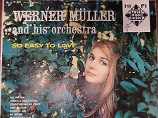 So Easy To Love Werner Muller and his Orchestra 33RPM 050616 TLJ