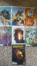 UNCANNY INHUMANS #1-6 + 8 1,2,3,4,5,6,8 NM+ 9.6 Complete LOT 1st Print + Digital