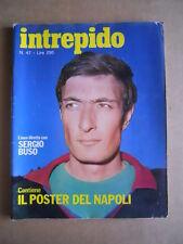 INTREPIDO n°47 1974 con Poster del NAPOLI Calcio 1976-77  [G549]