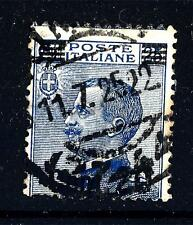 ITALIA - Regno - 1924/25 - Francobolli del 1901-23 sovrastampati. 20 c su 25 c