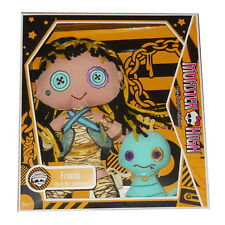 Monster High Friends Cleo de Nile Plush Doll and Hissette 2010 Retired New!