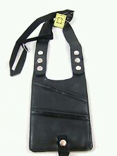 GENEIUN LEATHER SHOULDER HOLSTER MONEY BAG BELT WALLET TRAVEL SECURITY BELT