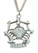 Cancer Necklace Zodiac Astrology Sign June 21 - July 22 NK-CANC