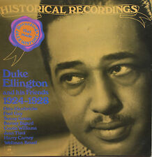 "Vinyle 33T Duke Ellington ""Historical recordings - 1924-1928"""