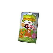 MOSHI MONSTERS CLAY BUDDIES - 3 SEALED PACKS - CHEAP - BRAND NEW IN PACKET