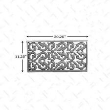 CAST IRON RECESSED METAL FOUNDATION OR WALL HOUSE VENT  #RHV103
