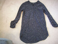 Womens Black H&M 3/4 sleeve shirt top blouse size 32 RN0101255 Style 404130