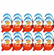 12 Kinder Joy * BOYS*  with Surprise Eggs in Toy & Chocolate Free Shipping