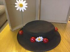 """LADIES Mary Poppins inspired  Hat..22 12"""" or state ur size."""