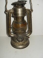 alte Petroleum Lampe, Sturmlaterne, Feuerhand * 175 * SUPER BABY W. Germany