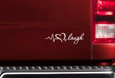 Live Love Laugh v2 Funny Lady Driven Kiss Woman Girl JDM Car Vinyl Sticker Decal