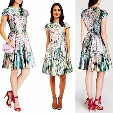TED BAKER size 5 - DIXIEE Garden Flower Prints Dress size 14 USA NEW $395