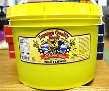 12lbs (1gallon) WILDFLOWER FLORAL SOURCE  Raw Honey Unfiltered Honey
