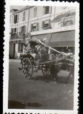 SABLES d'OLONNE (85) CHAR de CARNAVAL / photo amateur en 1933
