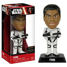 Star Wars Force Awakens Wacky Wobbler Finn Stormtrooper Bobble Head Figure NEW