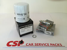 MG MGF MGTF Rover K Series Oil Filter and NGK Spark Plug Service Kit